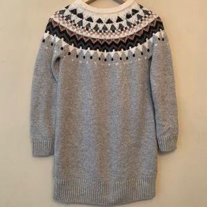 Gap Girls Gray Sweater Dress